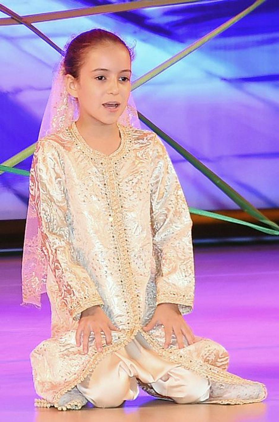 La princesse Lalla Kadija à Rabat, le 16 juin 2015