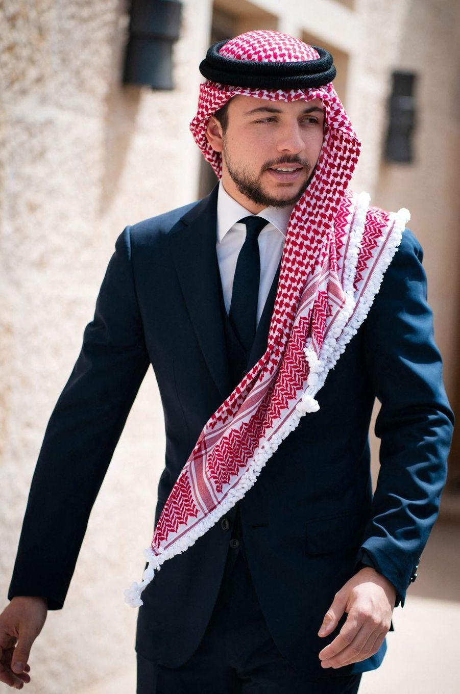 Le prince Hussein de Jordanie, le 26 mai 2019
