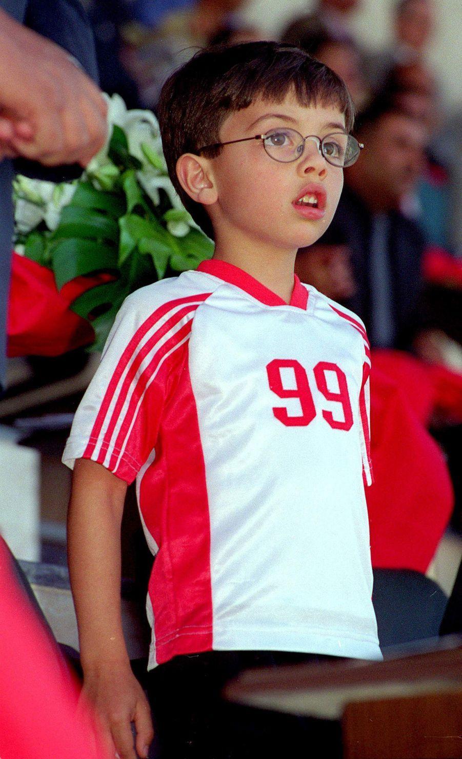Le prince Hussein de Jordanie, en mai 2000