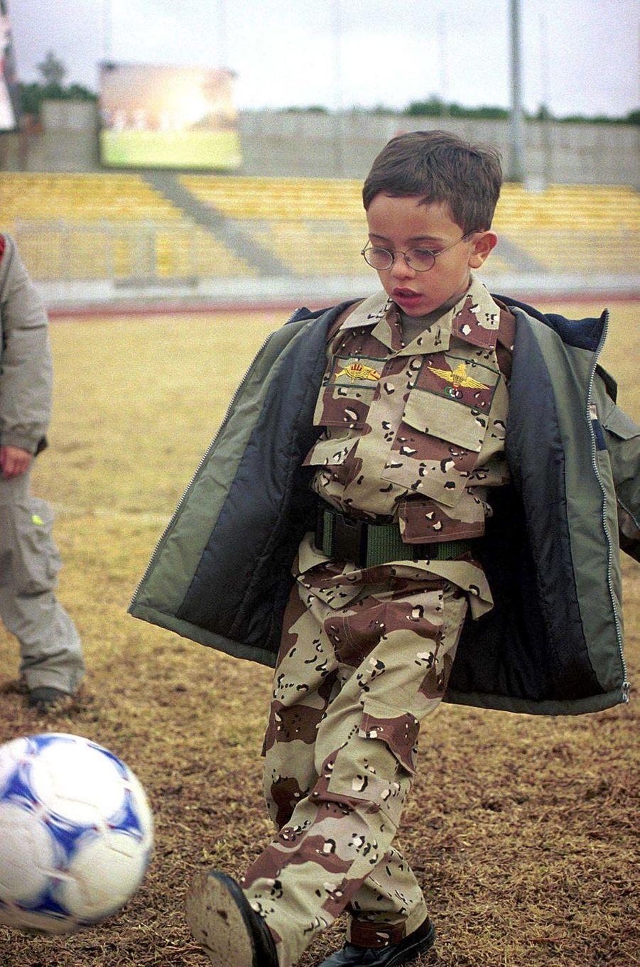 Le prince Hussein de Jordanie, le 16 février 2001