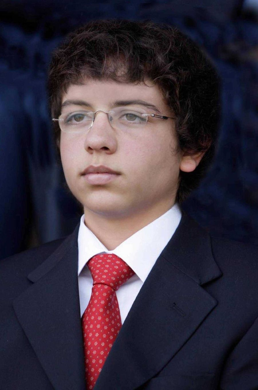 Le prince Hussein de Jordanie, le 2 juillet 2009