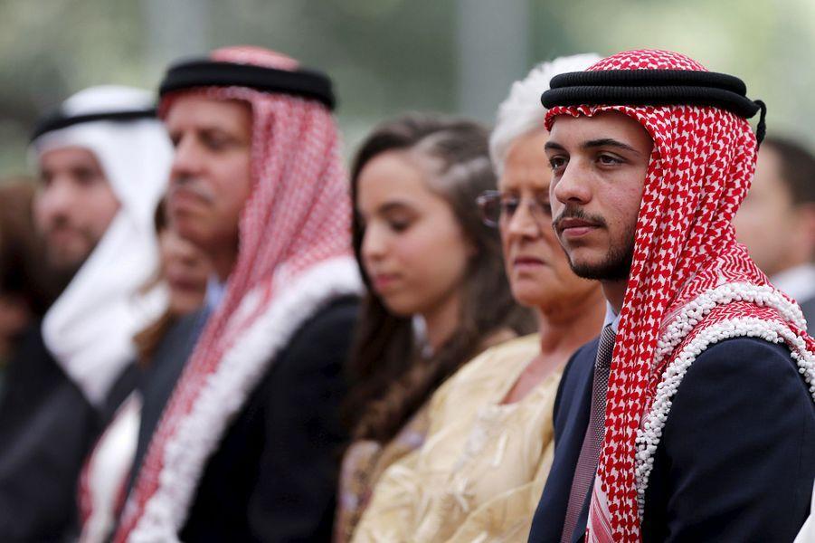 Le prince Hussein (au premier plan), le 25 mai 2015