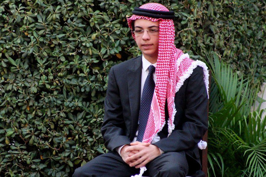 Le prince Hussein, le 14 août 2011