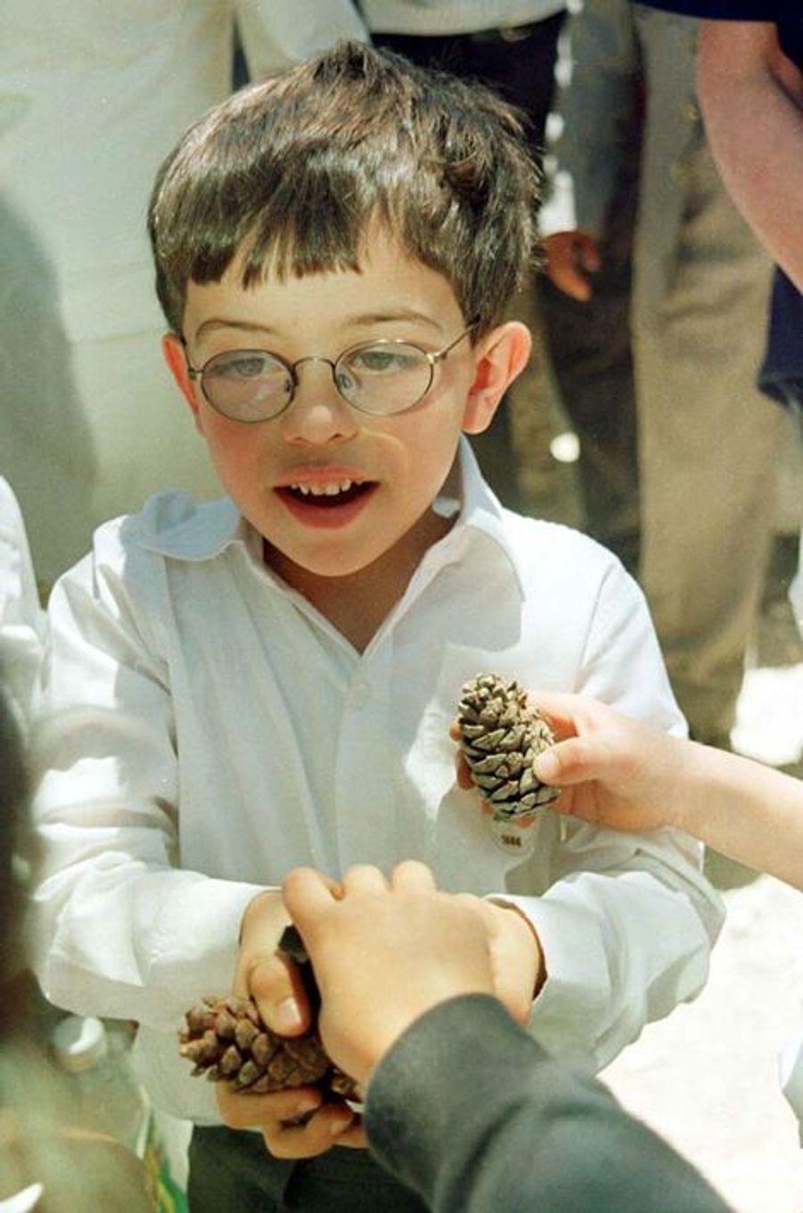 Le prince Hussein, le 21 mai 2000