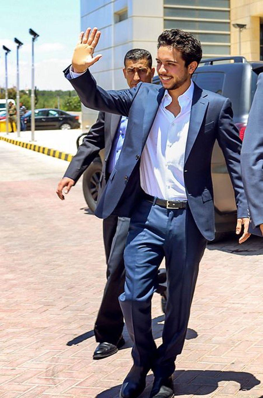 Le prince Hussein, le 24 juin 2015