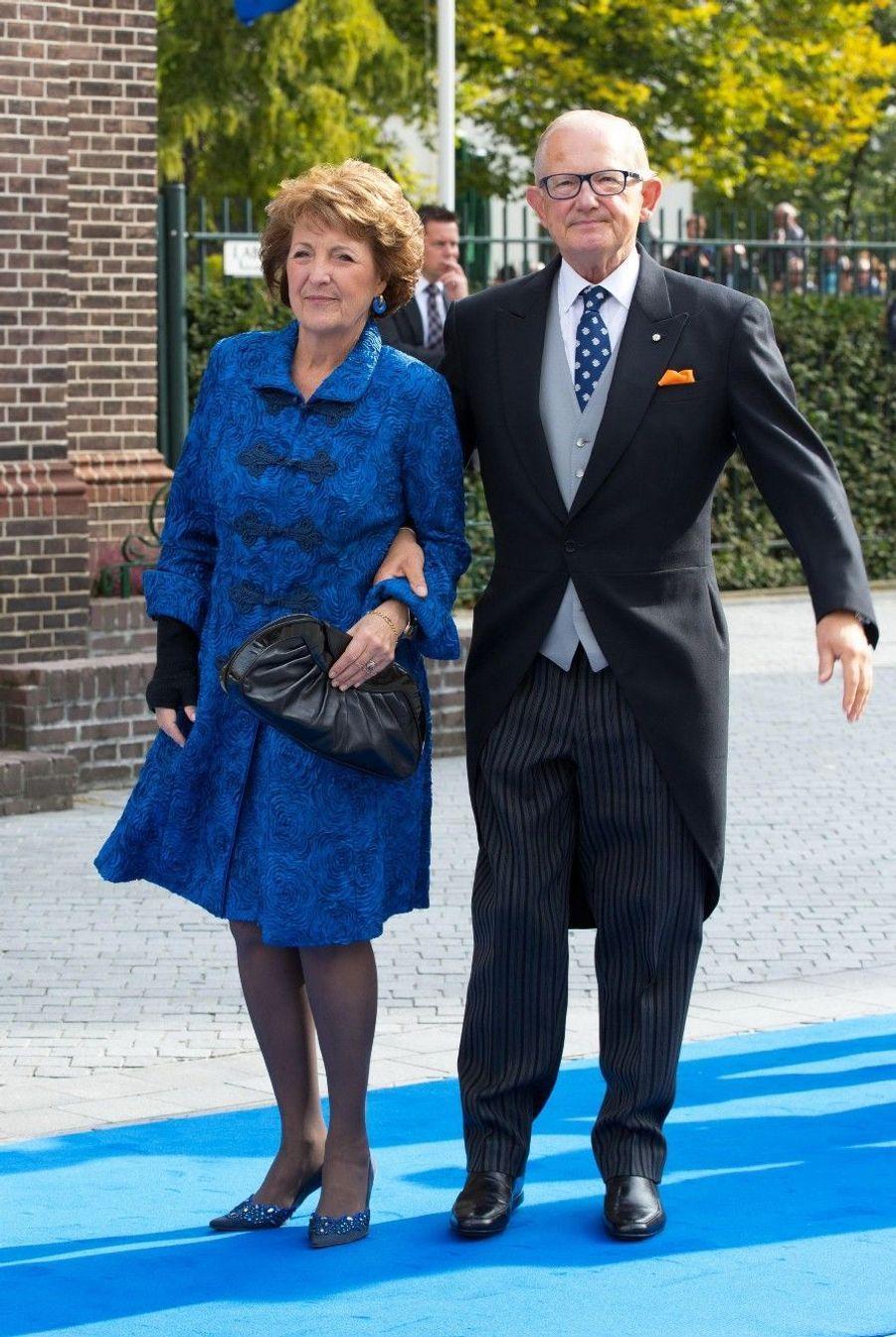 La princesse Margriet des Pays-Bas et son mari Pieter van Vollenhoven