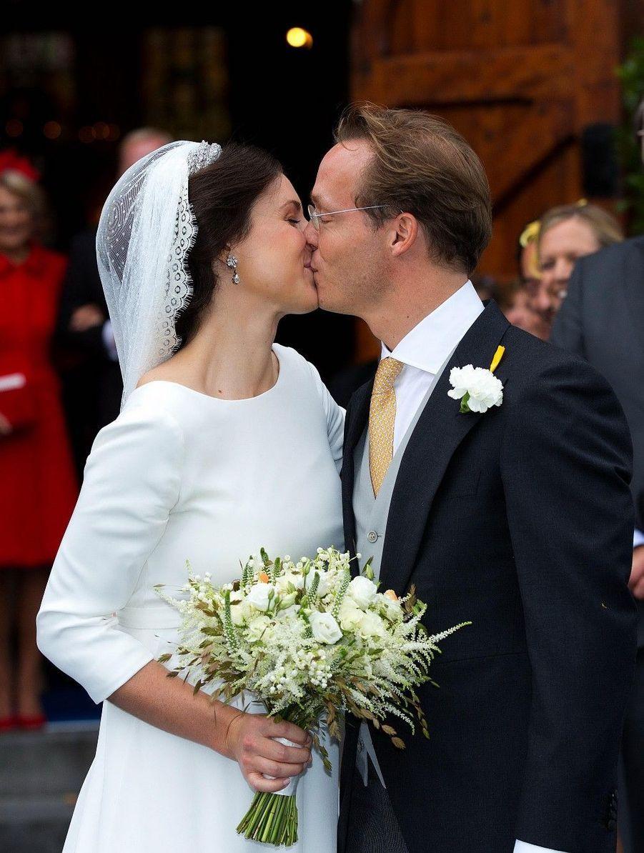 Le prince Jaime de Bourbon-Parme et sa princesse Viktoria