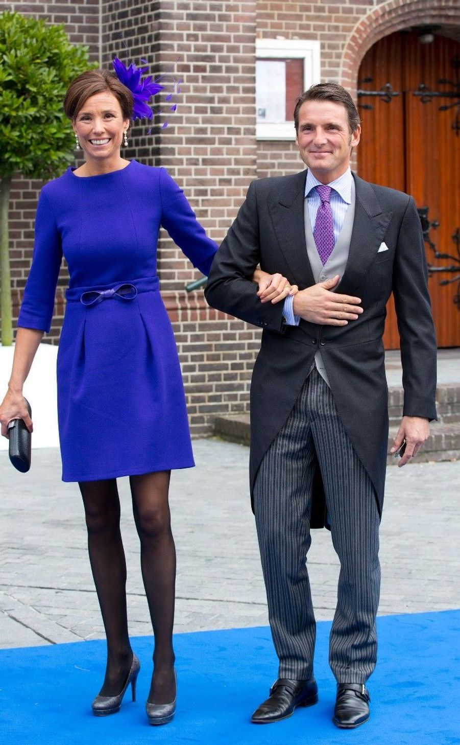 Le prince Maurits et la princesse Marilene