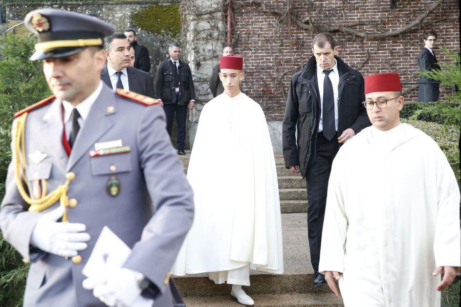 Le prince Moulay El Hassan du Maroc à Dreux, le 2 février 2019