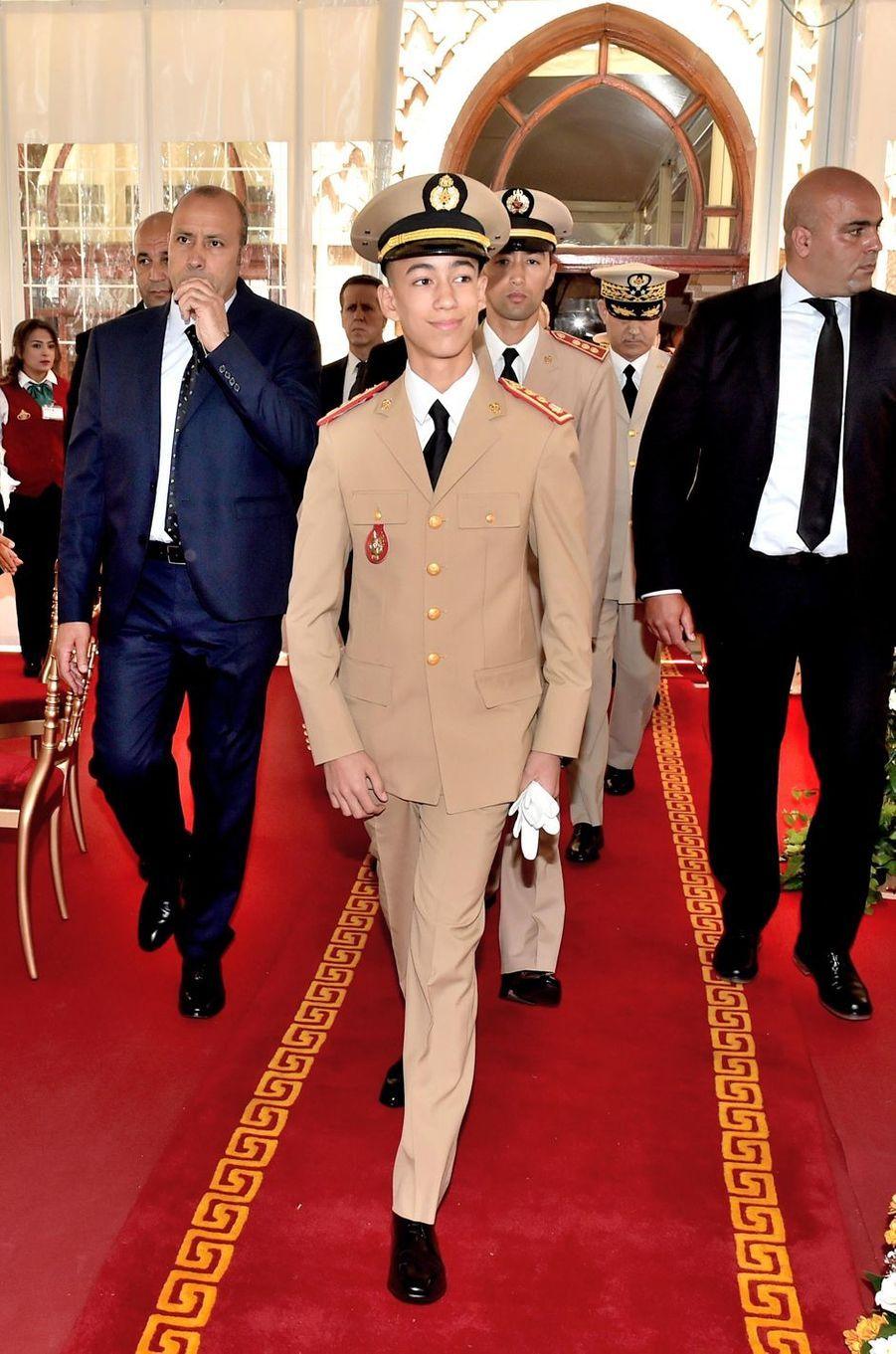 Le prince Moulay El Hassan du Maroc, le 14 mai 2017