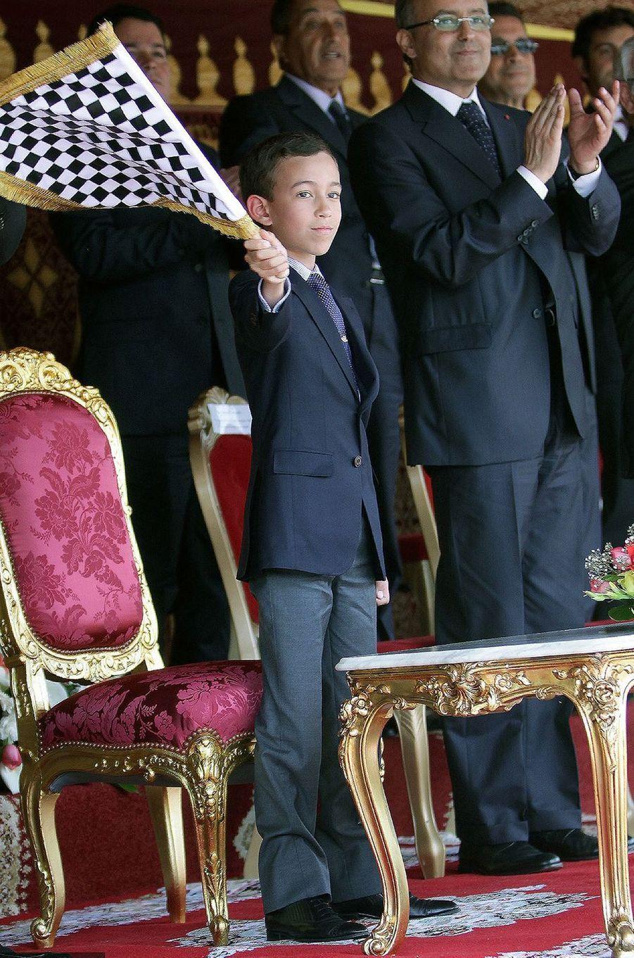 Le prince Moulay El Hassan du Maroc, le 8 mai 2012