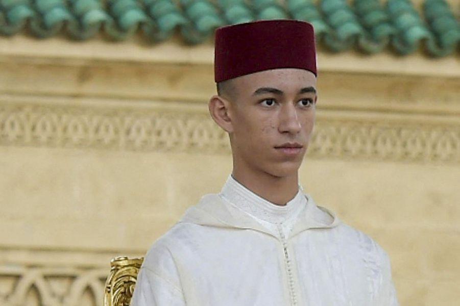 Le prince Moulay El Hassan du Maroc à Rabat, le 30 mars 2019