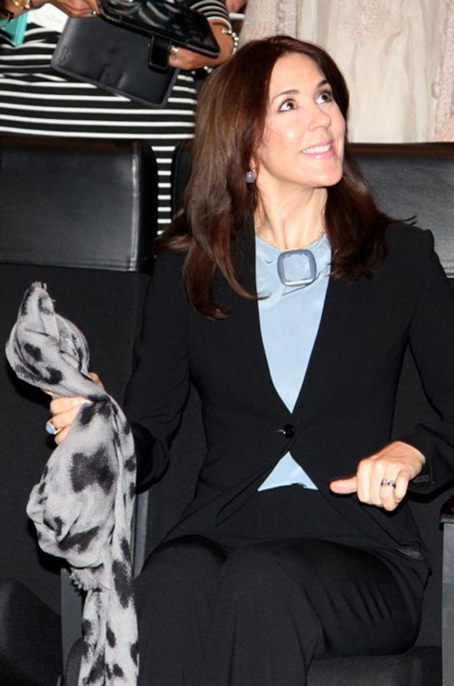 La princesse Mary à Copenhague, le 2 mars 2015
