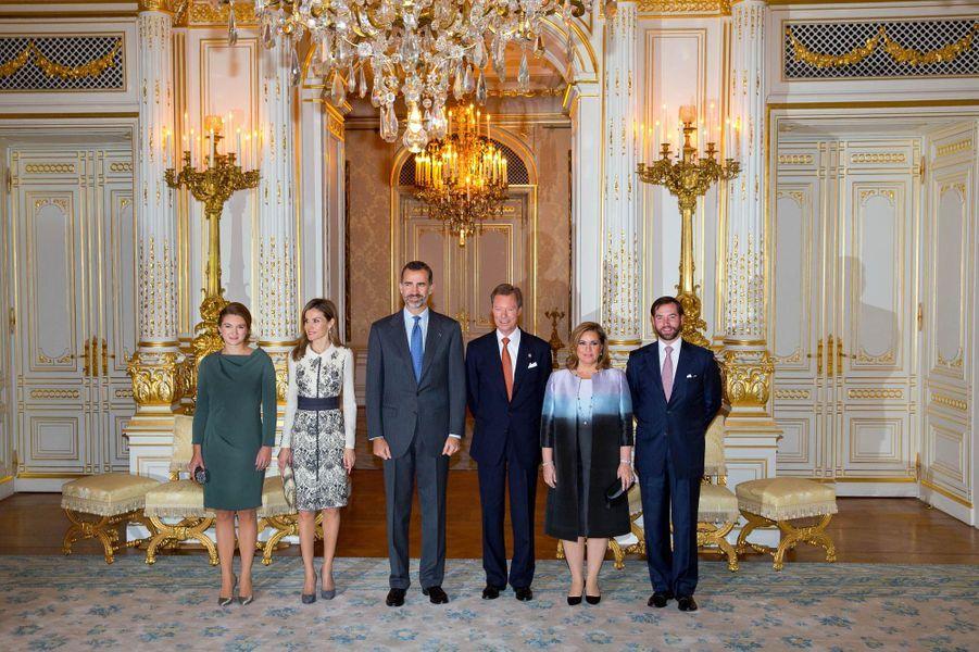 Letizia et Felipe au Grand-Duché du Luxembourg