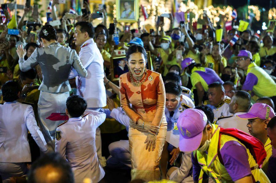 La princesse Bajrakitiyabha de Thaïlande à Bangkok, le 1er novembre 2020