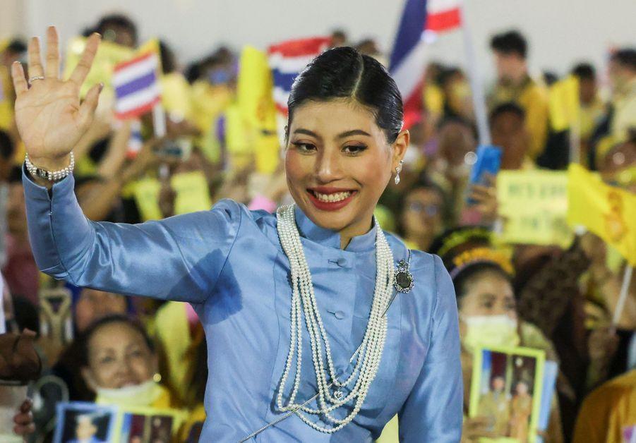 La princesse Sirivannavari Nariratana de Thaïlande à Bangkok, le 1er novembre 2020