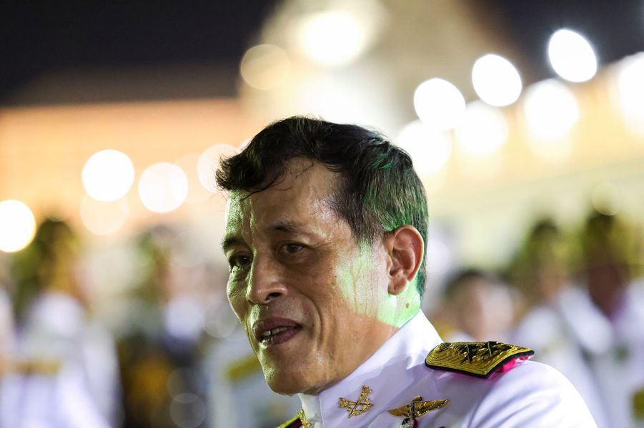 Le roi Maha Vajiralongkorn de Thaïlande à Bangkok, le 1er novembre 2020