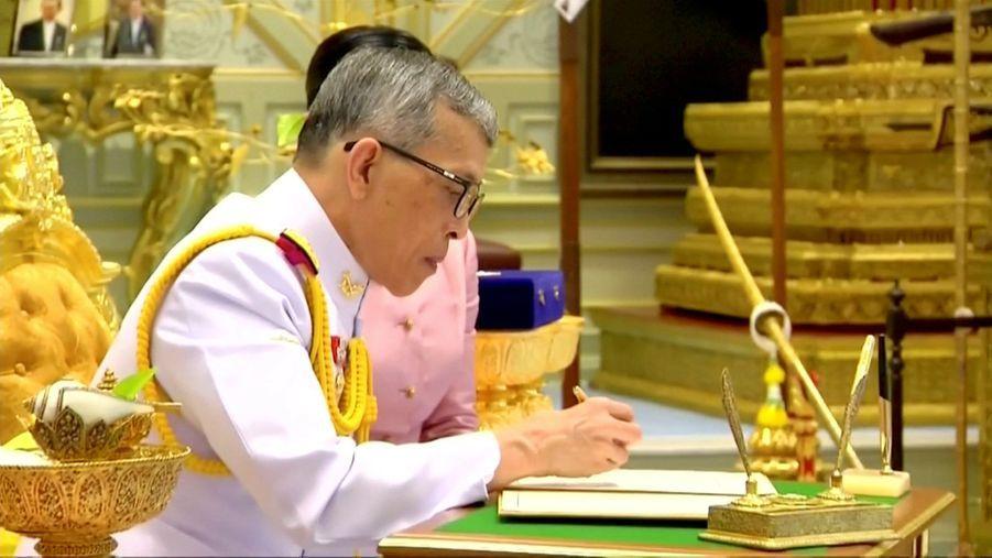 Le roi de Thaïlande Maha Vajiralongkorn, le 1er mai 2019 à Bangkok