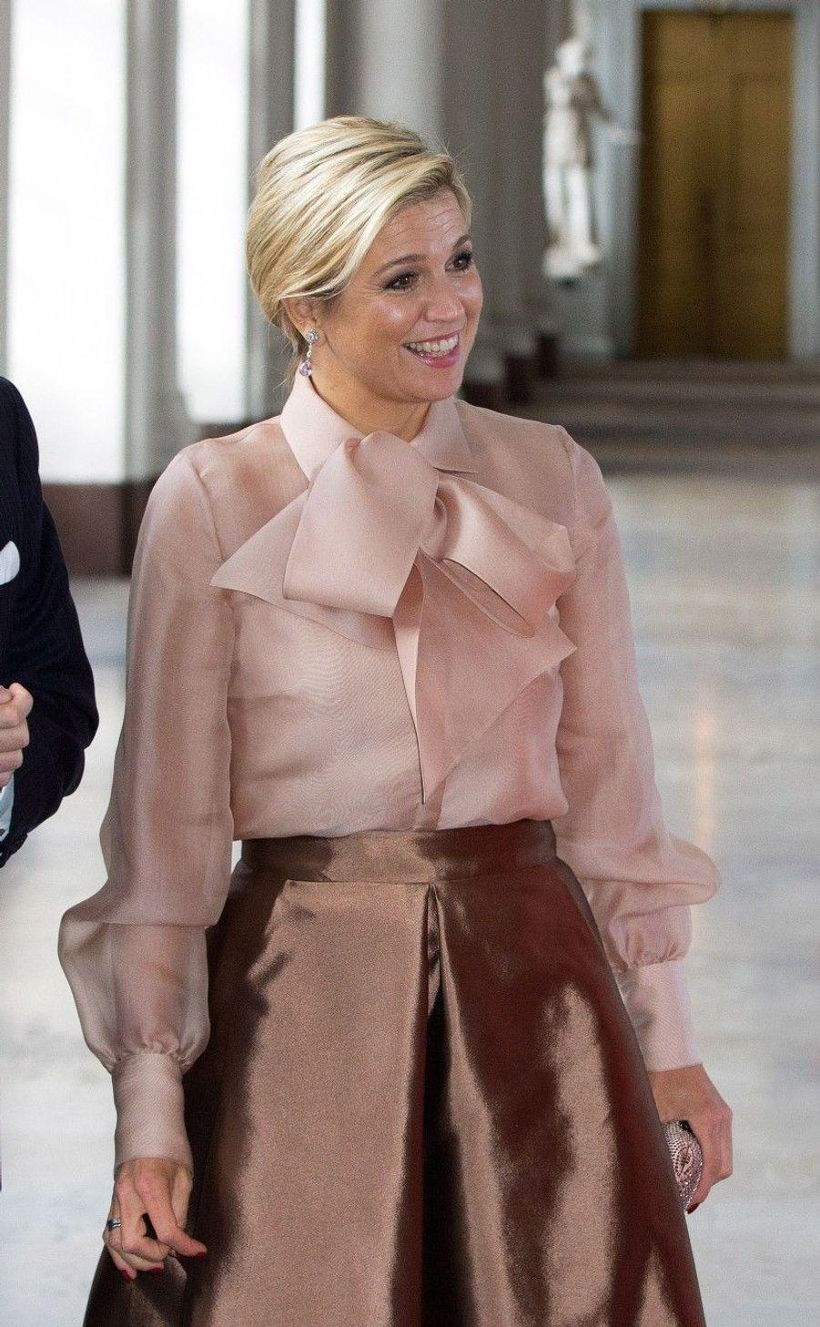 Maxima et Willem-Alexander reçus par la famille de Suède