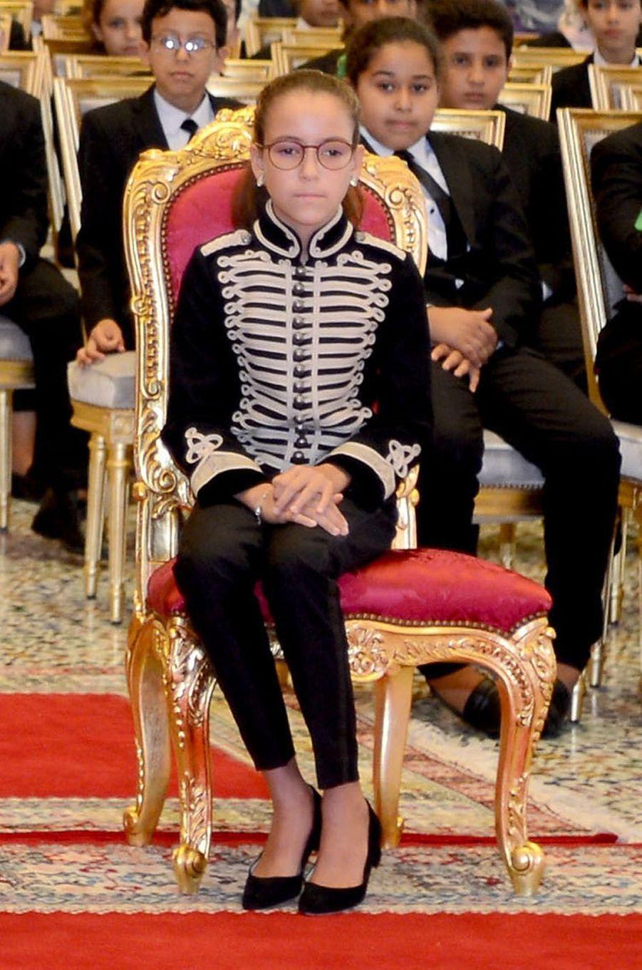 La princesse Lalla Khadija du Maroc à Rabat, le 17 septembre 2018