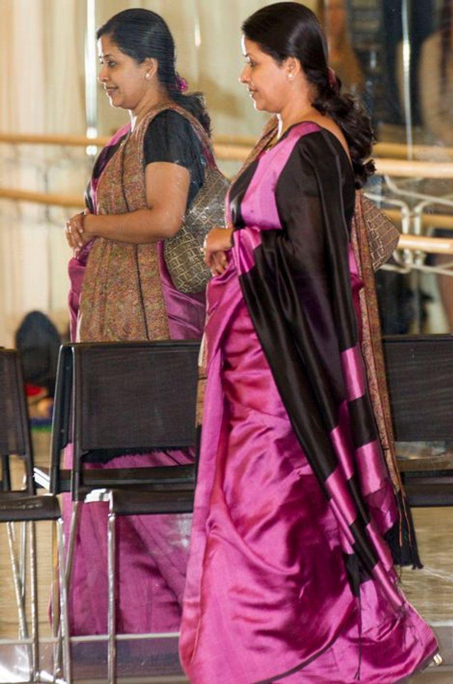 Sharmistha Mukherjee à Oslo le 14 octobre 2014