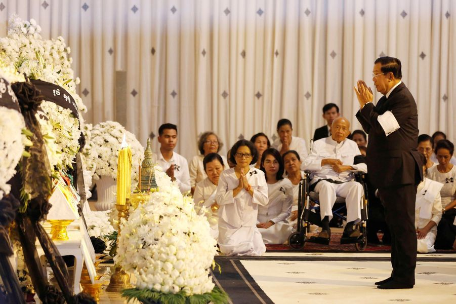 Le Premier ministre du Cambodge Hun Sen, à Phnom Penh le 20 novembre 2019