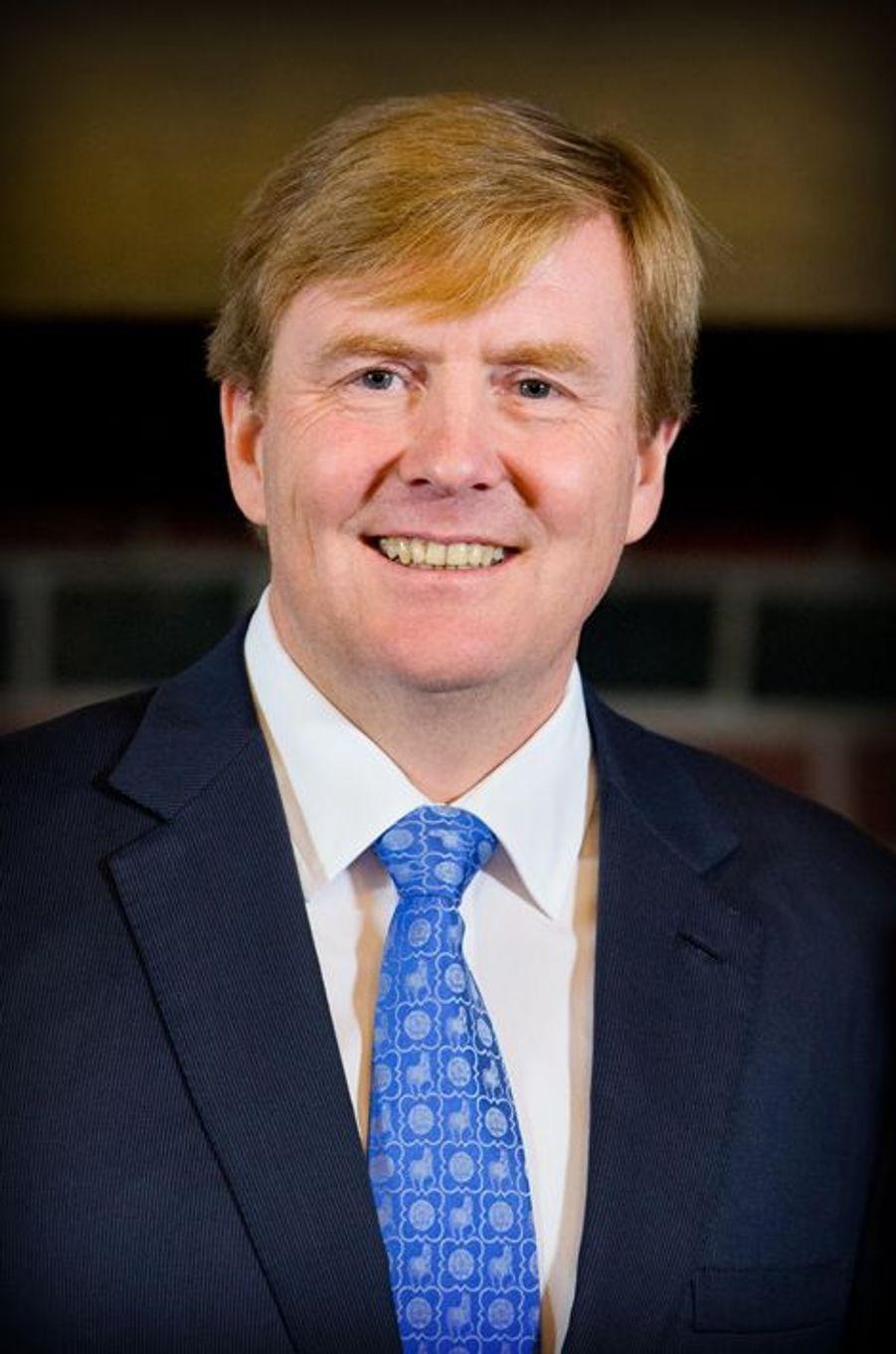 Le roi Willem-Alexander des Pays-Bas à La Haye, le 18 octobre 2014