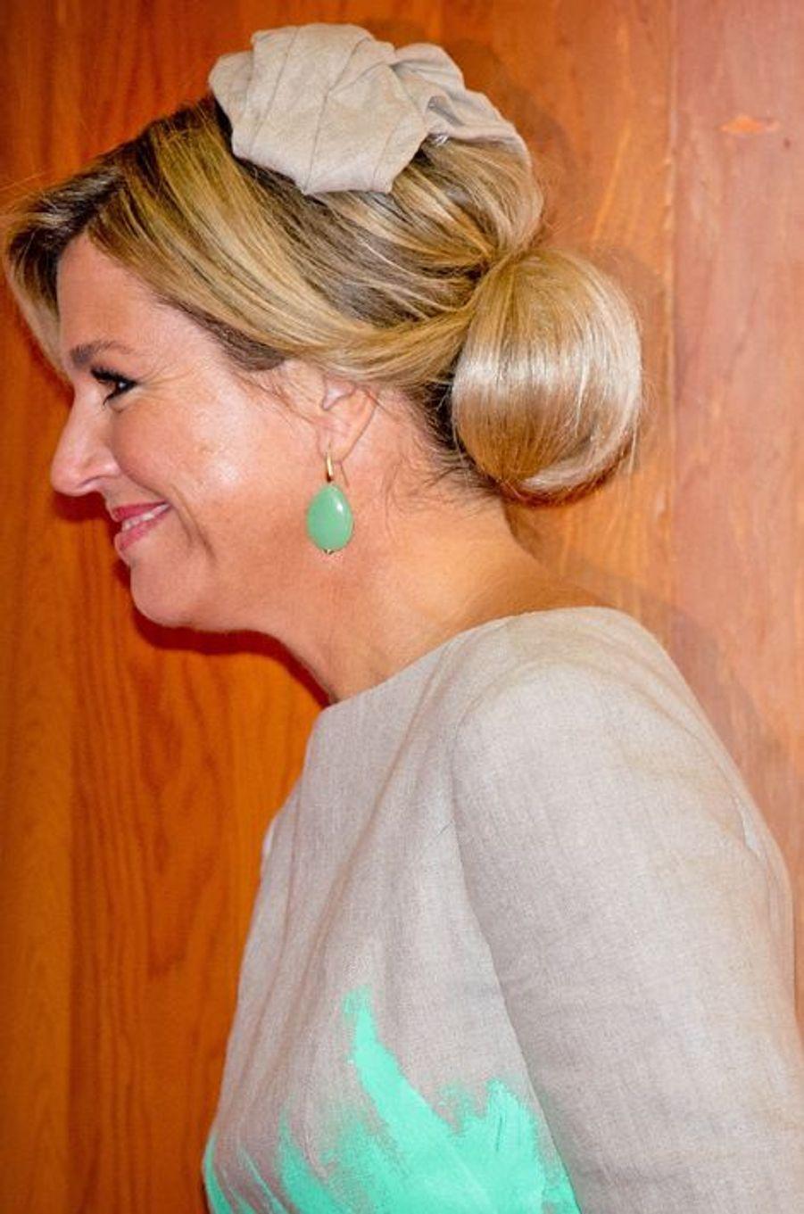 La reine Maxima à Séoul, le 3 novembre 2014