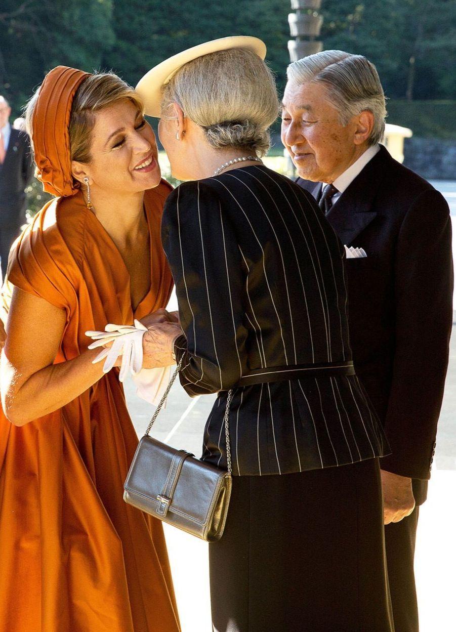 Maxima et Willem-Alexander, accueil impérial au Japon