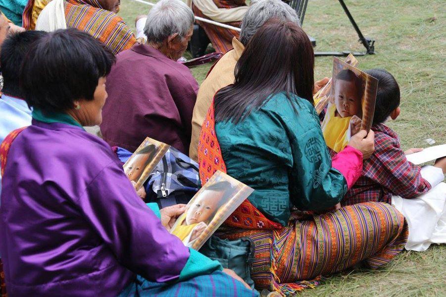 Cérémonie au dzong de Punakha, le 16 avril 2016