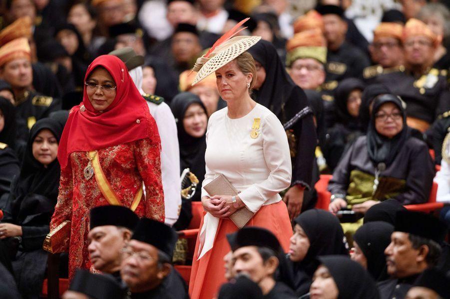 La comtesse Sophie de Wessex au Sultanat de Brunei, le 5 octobre 2017