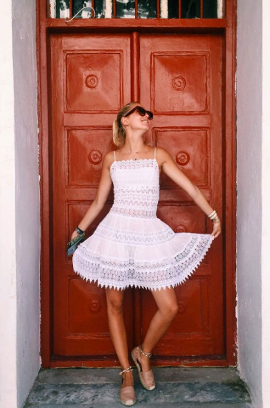 La princesse Maria-Olympia de Grèce fête ses 20 ans à Mykonos