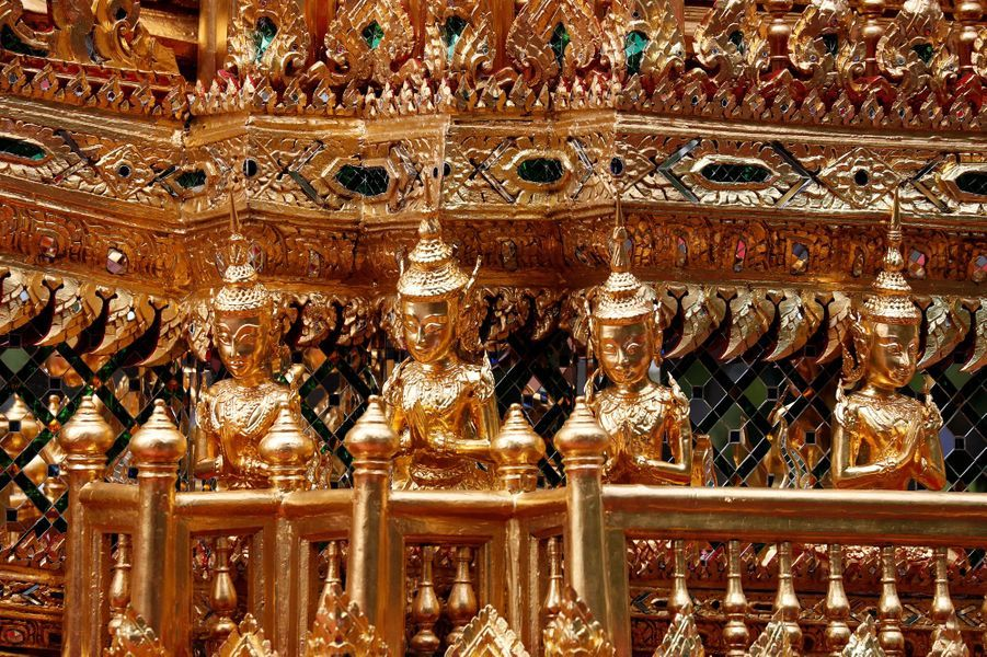 Les funérailles du roi Bhumibol de Thaïlande, le 26 octobre 2017