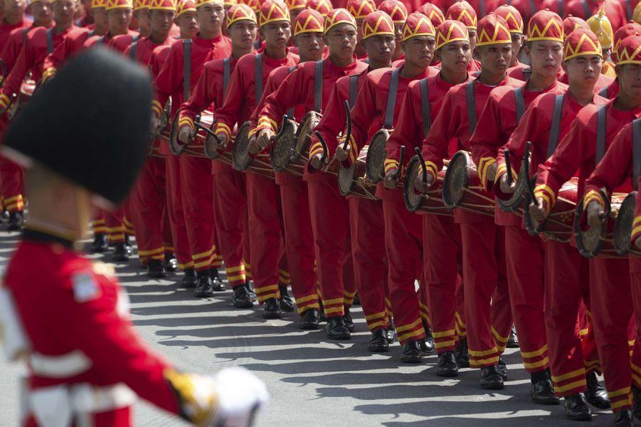 Les funérailles du roi Bhumibol de Thaïlande, le 27 octobre 2017