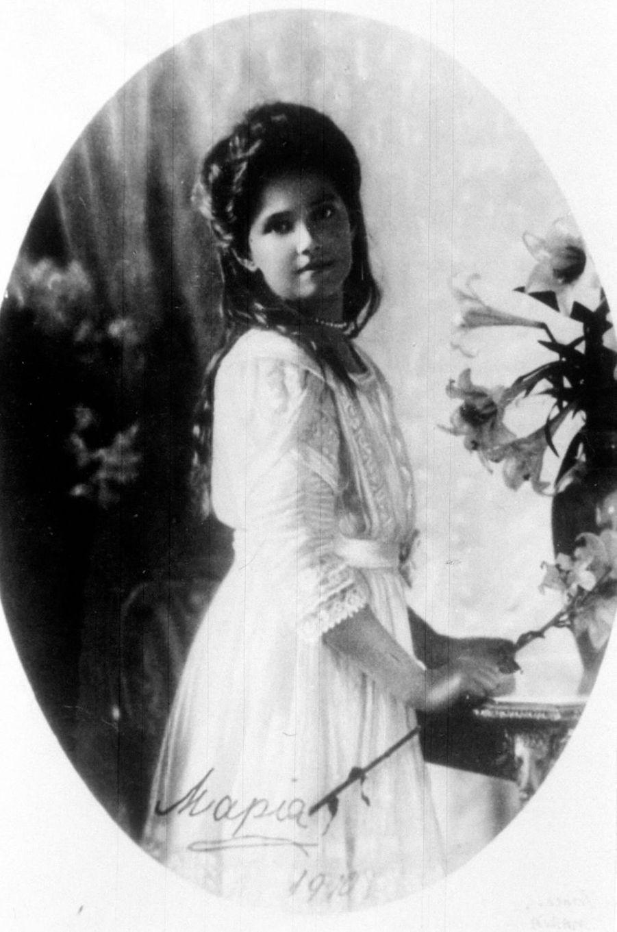 La grande-duchesse Maria de Russie en 1910