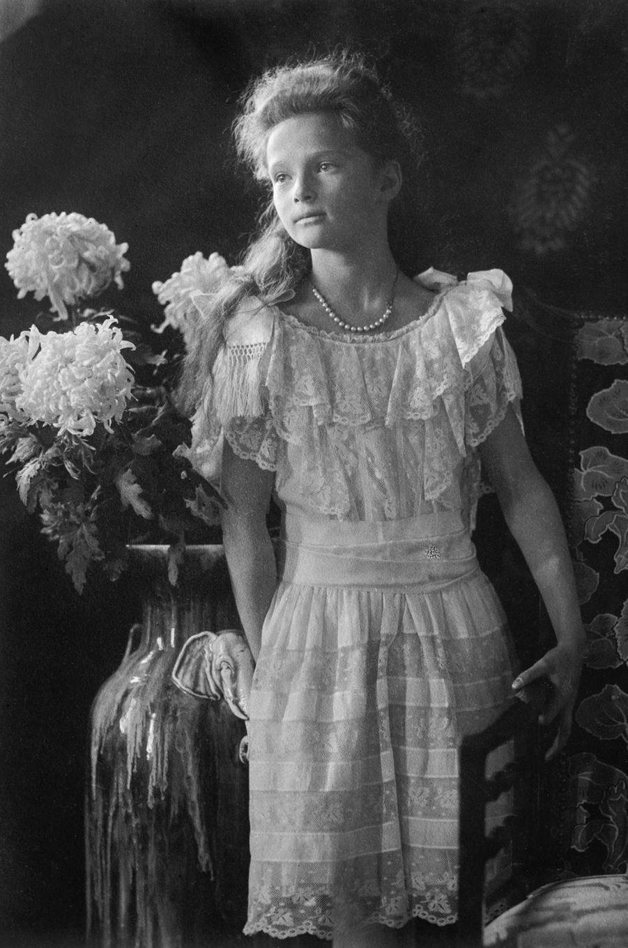 La grande-duchesse Tatiana de Russie en 1913