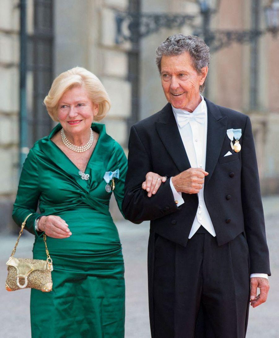 Walther Sommerlath avec sa femme Ingrid, le 13 juin 2015