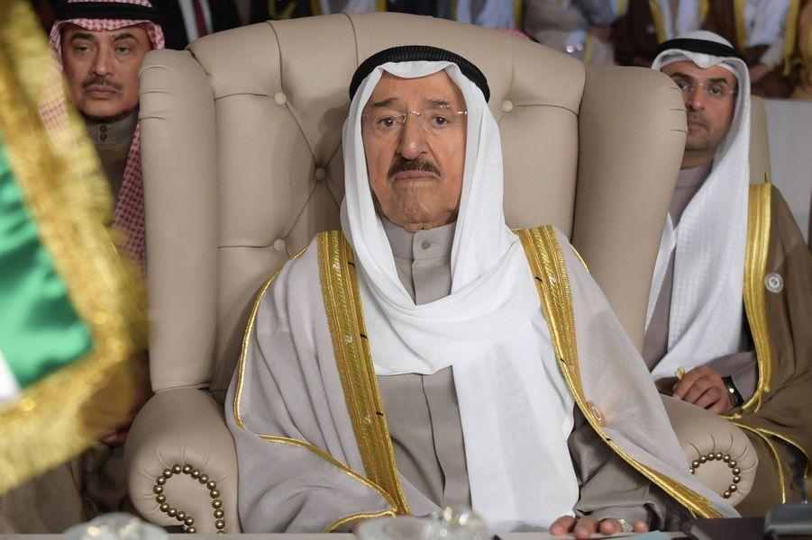 L'émir du Koweït, le cheikh Sabah al-Ahmad al-Sabah, le 31 mars 2019