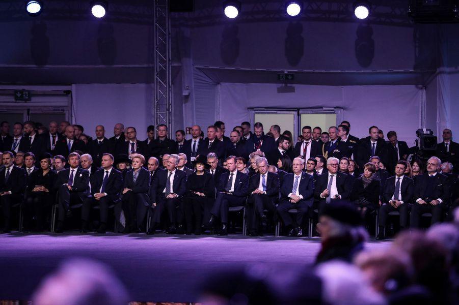 Les têtes couronnées à la cérémonie des 75 ans de la libération du camp d'Auschwitz-Birkenau, le 27 janvier 2020
