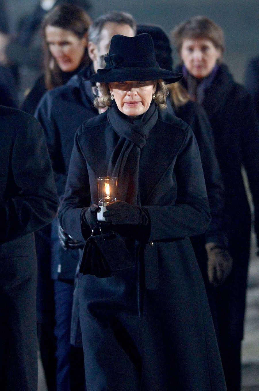 La reine des Belges Mathilde à Auschwitz-Birkenau, le 27 janvier 2020