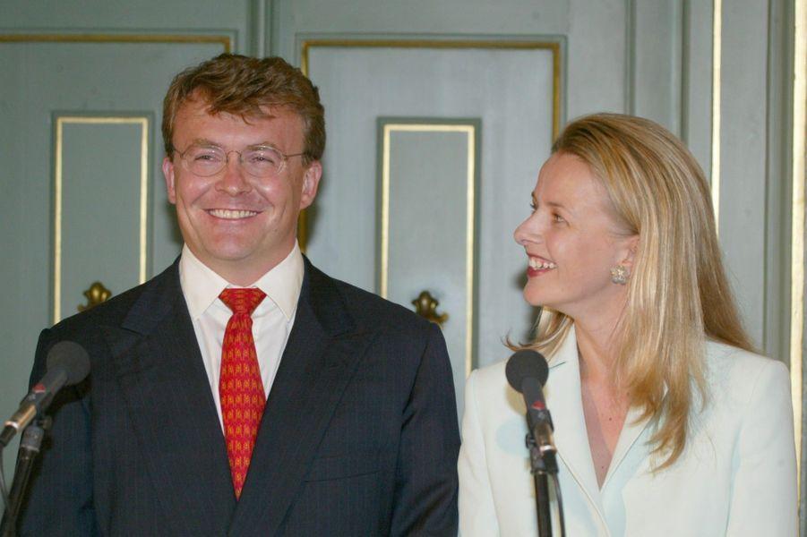 Fiançailles en juin 2003