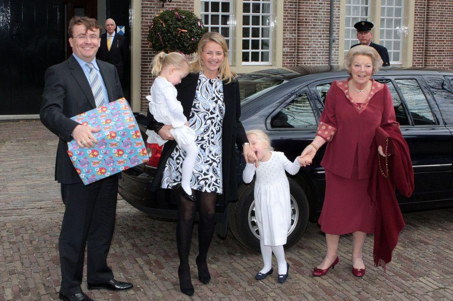Réunion de famille en mars 2010