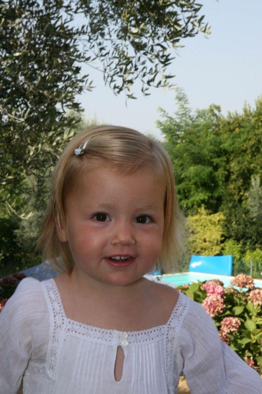 Alexia en aout 2007