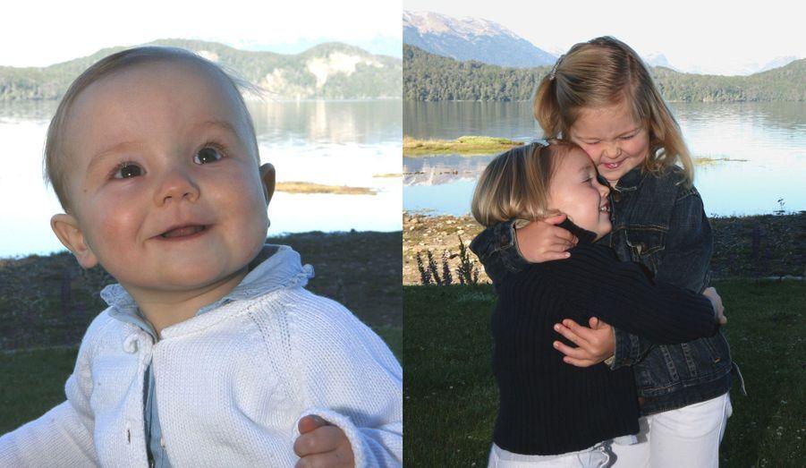Les petites en janvier 2008
