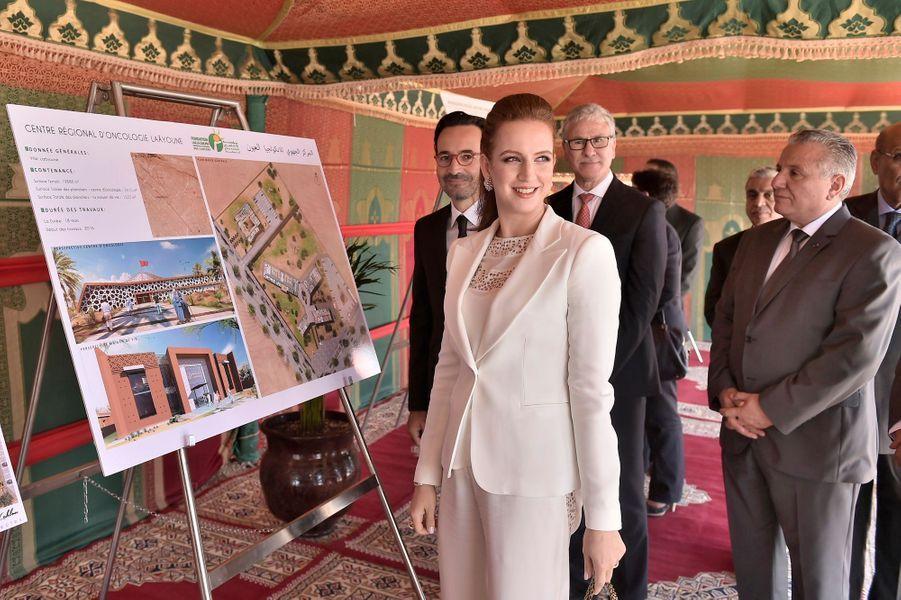Ce lundi 30 mai, la princesse Lalla Salma, épouse du roi du Maroc, a lancé la construction d'un centre d'oncologie dans le sud du pays. La veille, c'est son fils Moulay El Hassan qui était en vedette pour une cérémonie à Rabat.