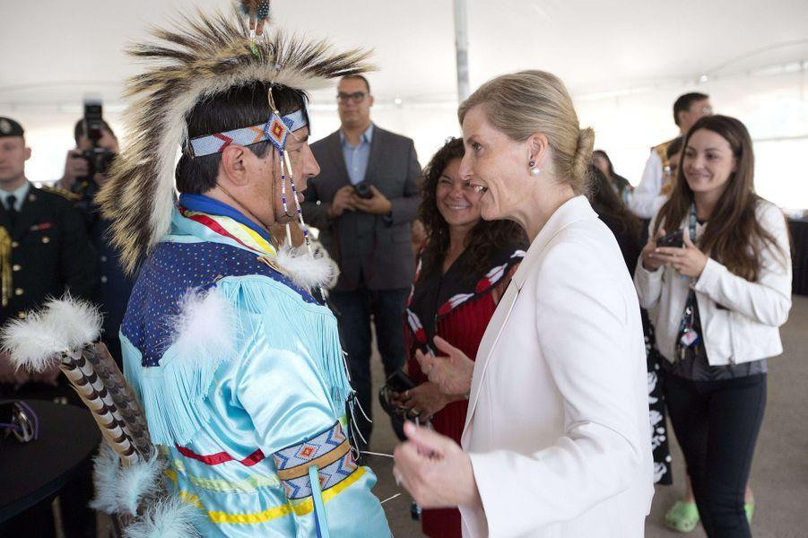 Du 21 au 24 juin 2016, le prince Edward et son épouse la comtesse Sophie de Wessex étaient au Canada, le temps d'une visite officielle.