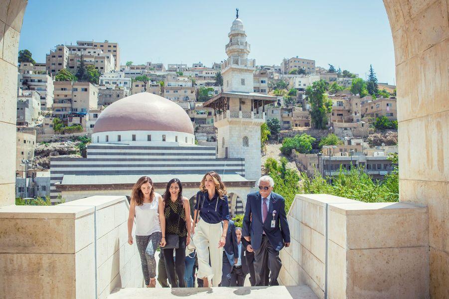 Dans moins d'un mois s'ouvre la Design Week Amman. Ce lundi 8 août, la reine Rania de Jordanie a voulu savoir où en étaient les préparatifs de cette nouvelle manifestation.