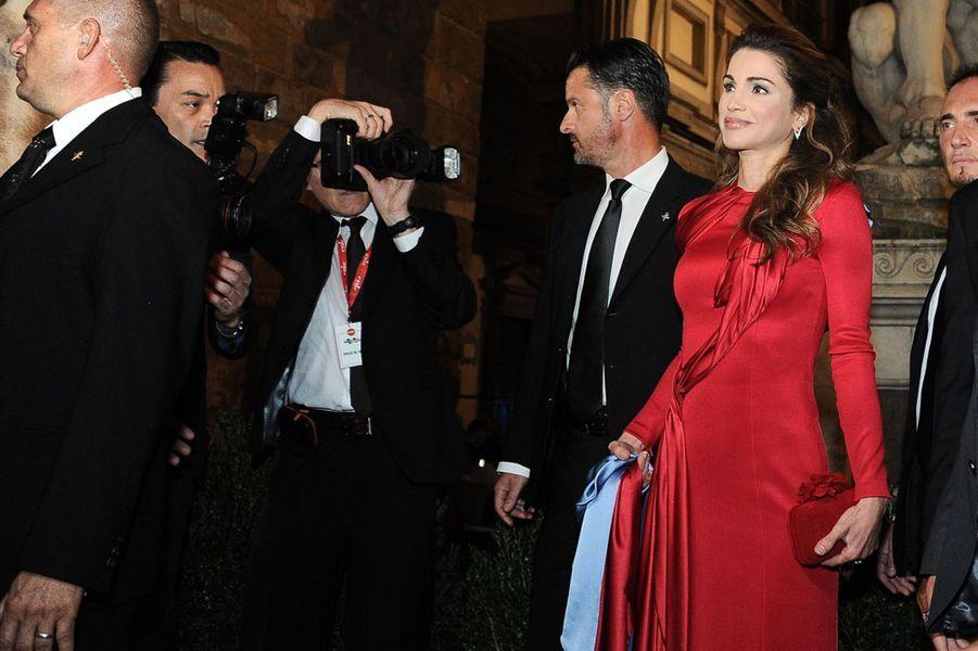 Alors qu'elle recevait à Florence ce dimanche 11 septembre le prix humanitaire de la fondation Andrea Bocelli, la reine Rania de Jordanie a appelé à une nouvelle Renaissance.