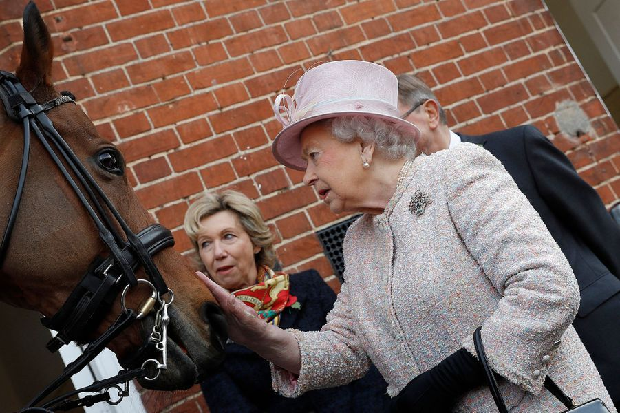 Après avoir fait ses adieux au couple présidentiel colombien, la reine Elizabeth II a rejoint ce jeudi 3 novembre en hélicoptère la ville de Newmarket où l'attendait un cadeau pour ses 90 ans.