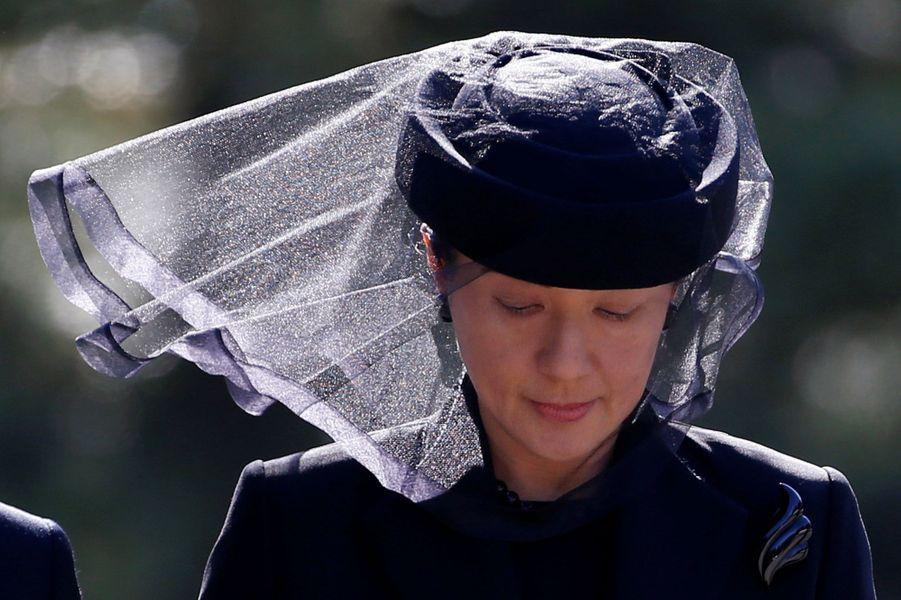 La princesse Masako du Japon a pris part ce vendredi 4 novembre, avec d'autres membres de la famille impériale, à un bien triste rendez-vous: les obsèques du prince Mikasa.